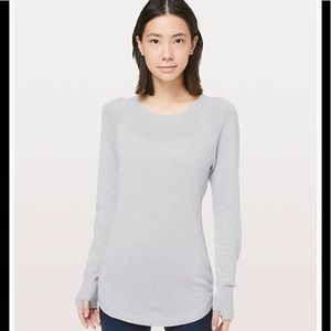 Lululemon hello aloe pullover sweater NWT & bag